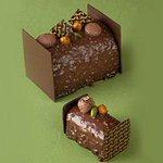[明日発売] リンツより、クリスマスケーキ「ビュッシュ・ショコラプラリネノワゼット」が登場 - http://t.co/nT1ijEWNsf http://t.co/B4Svr7jbRH