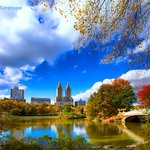 Fabulous fall foliage in full swing in #NYCs Central Park. #autumn http://t.co/r1d1mEjRRZ