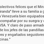 """.@Diego_Arria """"Colectivos felices que el Ministro Jaua """"Protector de Miranda"""" lleve a su familia a g... http://t.co/OdaLK45Ohg"""