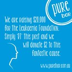Leukaemia Foundation pledge for the next 24hrs until 9am, Sat 1st Nov. For every RT we will donate $2. @tweetperth http://t.co/pEIlhgTvZI