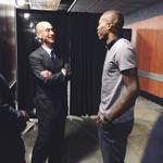 Jamal + Commissioner Silver. http://t.co/Dq5QD2dDXJ