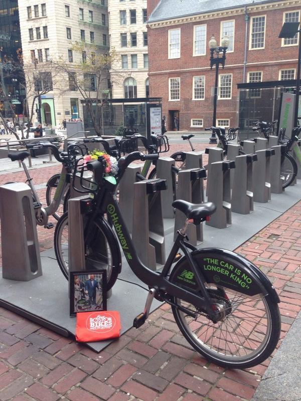 """The Mayor's Bike"" http://t.co/fL22AyOiMb"