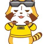 「劇場版 TIGER & BUNNY -The Rising-」×「あらいぐまラスカル」コラボ画像その3!ライアンに扮するラスカルです。 #tigerbunny http://t.co/JoaLSrDReq