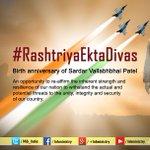 #RashtriyaEktaDivas: Birth anniversary of Sardar Vallabhbhai Patel http://t.co/gFpcY3bzU7
