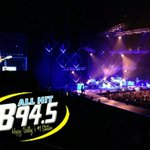 The B94.5 Crew is having a BLAST at the @HunterHayes concert at the @JordanCenter !!! #TattooYourNameTour http://t.co/zKpOVJIiSA