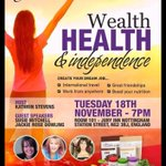 Open to all #event #Nottingham @juryinnshotels #Health #Wealth @sparklingsusie 18th November come and find out more! http://t.co/xolqFBlofP