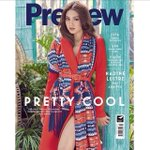 Grab a copy of Preview Magazine with Nadine Lustre as the Cover! Amazing! ????????????☺???? ???? Happy Birthday Nadine Lustre http://t.co/nPRJqFWiIW