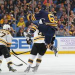 Jump for joy! @NHLBruins and @BuffaloSabres are going to #NHLOT! #BOSvsBUF http://t.co/pah6LIslji
