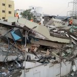 Building collapses in Pune, one trapped under debris http://t.co/DLd1BvLT3e