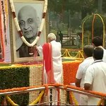 PM Modi pays floral tributes to Sardar Patel before flagging off