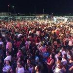 Impresionante multitud en el Oroz Gaytán de Obregon para recibir a @claudiapavlovic casi 3 mil mesas de 10 http://t.co/Yz5NAFV5Xb