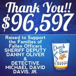 Speechless. @DutchBrosSac - your company is beyond AMAZING! To everyone who waited in line and donated, THANK YOU! ???? http://t.co/YTrKaA2HBg