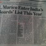 Great start to our meeting! @casinghvaibhav:M&M enters India's Best Boards List #coincidence on Board meeting date? http://t.co/ApwrgV1CR7