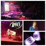 The B94.5 crew is lovin every second of the #TattooYourNameTour with @HunterHayes at the @JordanCenter tonight! http://t.co/Dp8xfHVhzl