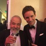 Eddie Redmayne and Mike Leigh! #Britannias http://t.co/HQj21Mq2ST