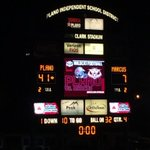 #PlanoFootball victory tonight, 41-7 over Marcus. http://t.co/pDXcpAbZHv