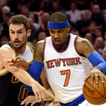 Carmelo Anthony and Knicks spoil LeBron James homecoming with 95-90 win over Cavaliers. Anthony: 25 Pts, 6 Ast http://t.co/AUmyU1sMDN
