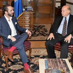 #InternacionalesDLP Nayib Bukele se reúne con secretario general de la OEA http://t.co/7gNuzlJR7x http://t.co/R1D773keYz