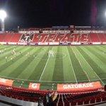 Práctica nocturna en el estadio Caliente. http://t.co/b18HvrHdWz