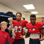 Celebration time.  Can you say PLAYOFFS!?! #McKinneyBoydBroncos #MTH http://t.co/5CrAajCRxx