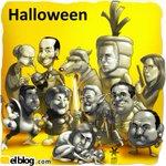 #CaricaturaEB Halloween - por @MUNDOKK , Caricaturista de @elblog http://t.co/dOUepM0zRP http://t.co/yo91Mb4lhF