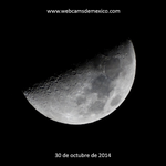 La luna esta noche en el cielo de México. Lunas de octubre... http://t.co/F39yj19jPJ