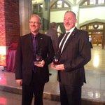Stephen Harke, @ChefRogalski 2014 Distinguished Alumni Award Recipients #SAITAlumni14 #yyc @SAITPolytechnic http://t.co/9Y3qhZ9n5L