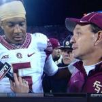 Someday, I hope I have a girl look at me the way Jimbo looks at Jameis. http://t.co/7qktZJwAyy