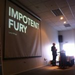Lance Wiggs throws down at #uxdd @lancewiggs #impotentfury #design http://t.co/PFT79sVfL1