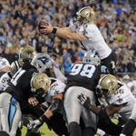 After starting the season 1-3, the #Saints have won 3 of their last 4 and moved into 1st place in the NFC South! http://t.co/NQRhMwEhql