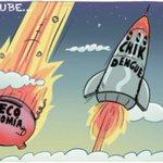 Mientras la economía de #ElSalvador tiende a la baja, el #dengue y el #chik siguen al alza. #caricaturaLPG http://t.co/NWs1BzI2yl