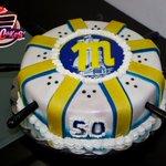 #Torta de Magallanes. Inspirada en Uniforme de visitante Temporada 2014-2015. Chef Gabriel Fernandez y Ámbar Matute. http://t.co/sV6ETpzudO