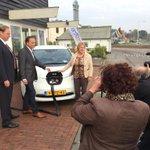 We gaan van start! Terschelling krijgt 100 Nissans #leaf als elektrische deelauto. Gefeliciteerd! http://t.co/PIFJL0lIkC