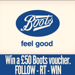 #COMPETITION Last day to enter our competition to #win a £50 Boots voucher, simply follow @ultraclear_plus and RT! http://t.co/UMQjbr85LK
