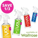 Its #FreebieFriday! Follow & RT for a chance to win a complete set of YOU. Now available with 1/3 off at Waitrose! http://t.co/WAncQQJ5tf