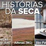 Especial: Brasileiros relatam o drama da falta dágua em 8 estados http://t.co/T5j6jm9SlK #G1 http://t.co/oDL1LVfiAI
