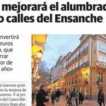 Tras renovar el alumbrado del #CascoMedieval, el Ayuntamiento mejorará la ilumninación del Ensanche @elcorreo_alava http://t.co/9WrtebRRNp