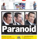 #FridayPaper #FrontPage The Paranoid President http://t.co/cMGP6inQB6