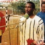 Sankara with Campaore standing behind him. #BurkinaFaso http://t.co/t1WNd31iC2