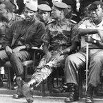 Sankara, Campaore and General Arnold Quainoo from Ghana. #BurkinaFaso http://t.co/Gcc1CW3bJu