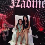 Nadine with her sister Naomi. Waah. Ang cute ???? Happy Birthday Nadine Lustre ???? http://t.co/Tv8nxnCKeF