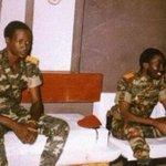 Campaore and Sankara. #BurkinaFaso http://t.co/3Vv5WZ1oW5