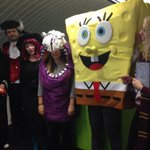 So The Emperor, Dracula, a witch, Spongebob SquarePants and Harry Potter walk into an agency... ^TM http://t.co/NWsk2AiWV5