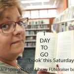 Looking for a bargain, @ASLibrary has a FUNdraiser tomorrow. Drop in and pickup a bargain  @AliceSpringsTC http://t.co/U92hXIS4f7