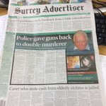 In this weeks #Surrey Ad, #Guidford: full story on the puppy farm murders, and climbing centre voyeur spared jail. http://t.co/z9x4UX3uZ0