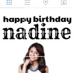 """@CarieeBlueBerry: From: @QueenBiankee IG ???? Astuuuuug! ???? Happy Birthday Nadine Lustre ???? @hellobangsie http://t.co/7B3S6tXDnV"" GALING! ????"