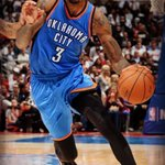 No KD, no Russ, but @Perry_Jones1 keeping the @okcthunder in it. 28 points for the kid! http://t.co/nhg7BvjFm7