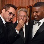 .@RobertDowneyJr, Dustin Hoffman & @iamjamiefoxx have a laugh at #Britannias + MORE Party Pics http://t.co/JAlyUCpsAW http://t.co/CWvgHawg4M