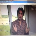 Rameez Raja with one hell of shirt this morning. #CricketSwag #PakVAus http://t.co/EHk3W7tDAv