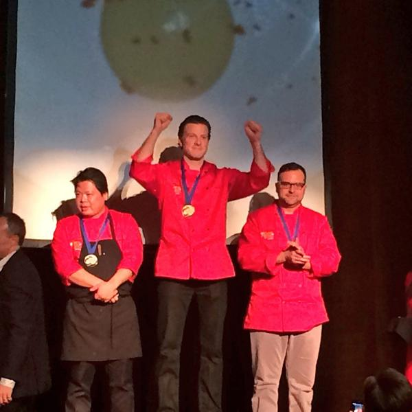 Congrats @ChefEligh on the Gold! @GoldMedalPlates #hawksworthGMP #gmp2014 http://t.co/gZMJaIBWRI